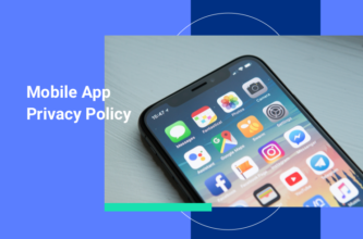 Mobile app privacy policy template and writing guide featured image