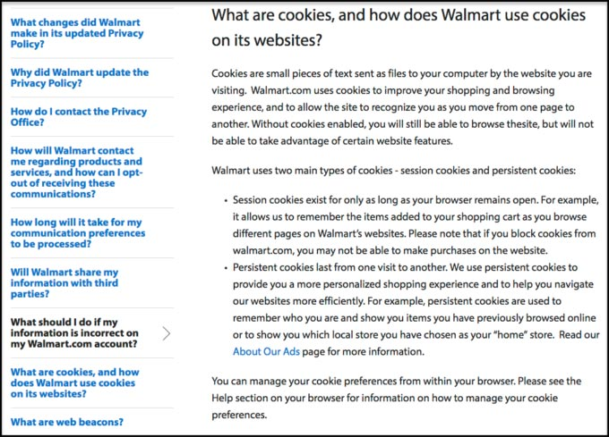 Walmart-Cookie-Policy