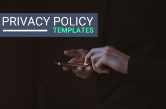 featured image for privacy policy templates and guide