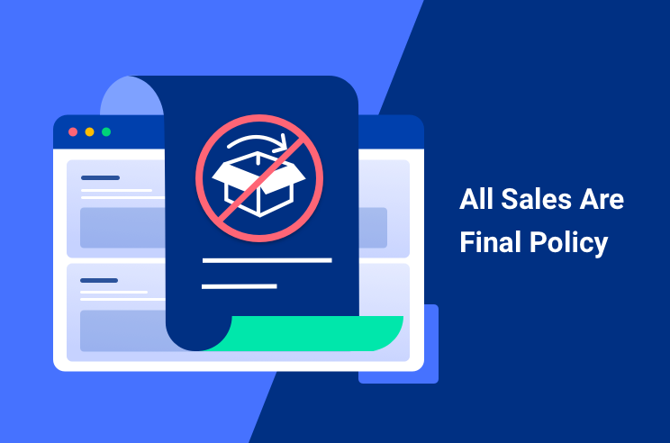 all sales are final policy featured image