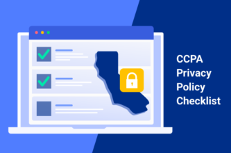 CCPA privacy policy checklist featured image