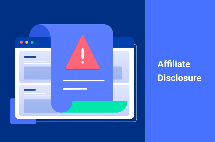 graphic depiction of an affiliate disclosure